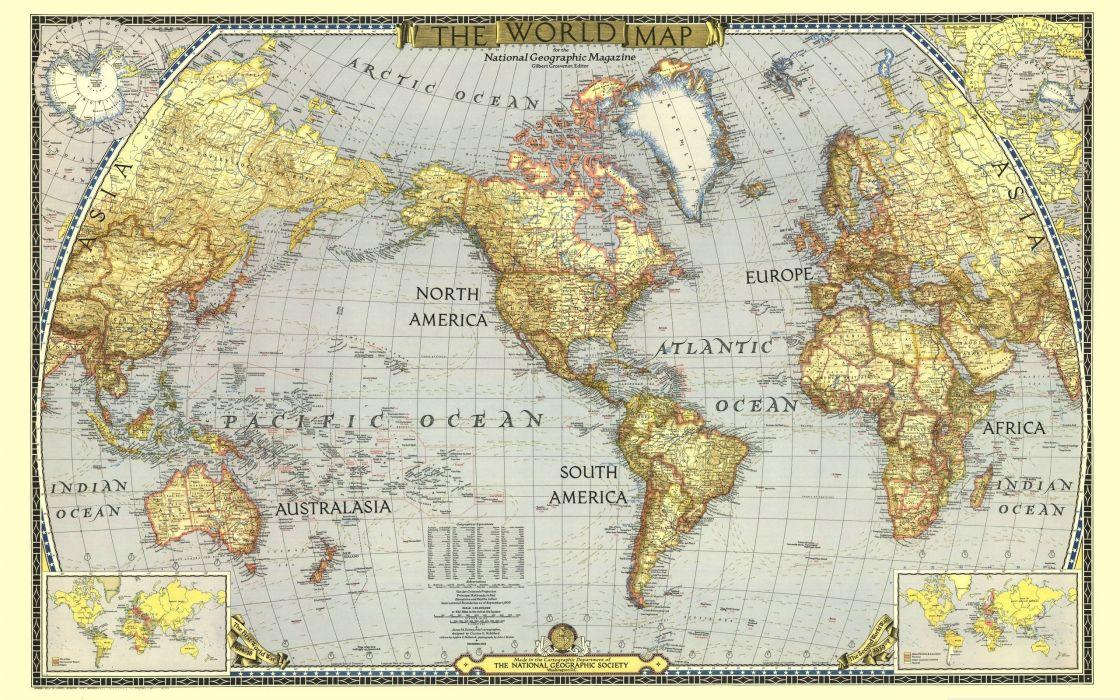 The World Map wallpaper