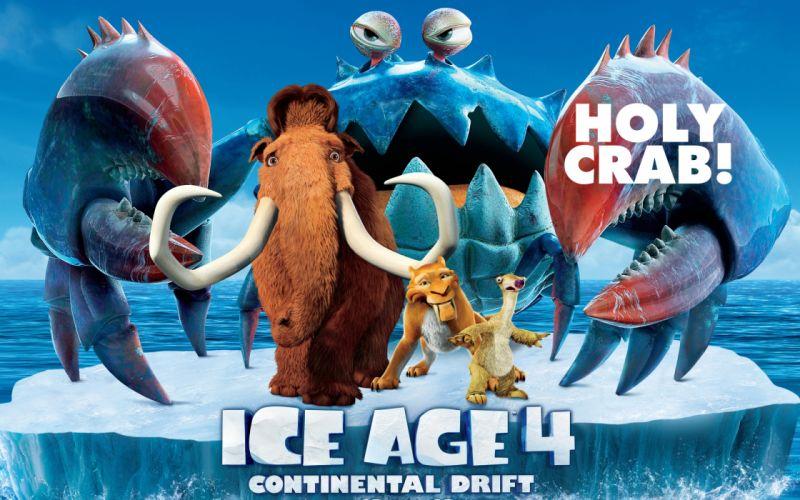Ice Age 4 - Continental Drift wallpaper