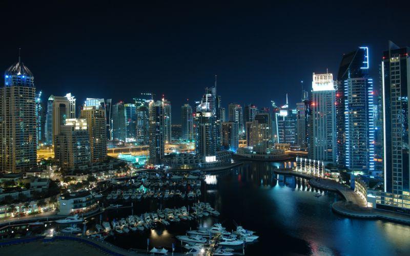 Amazing Dubai marina wallpaper