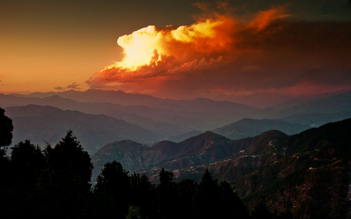 Dalhousie Sunset wallpaper