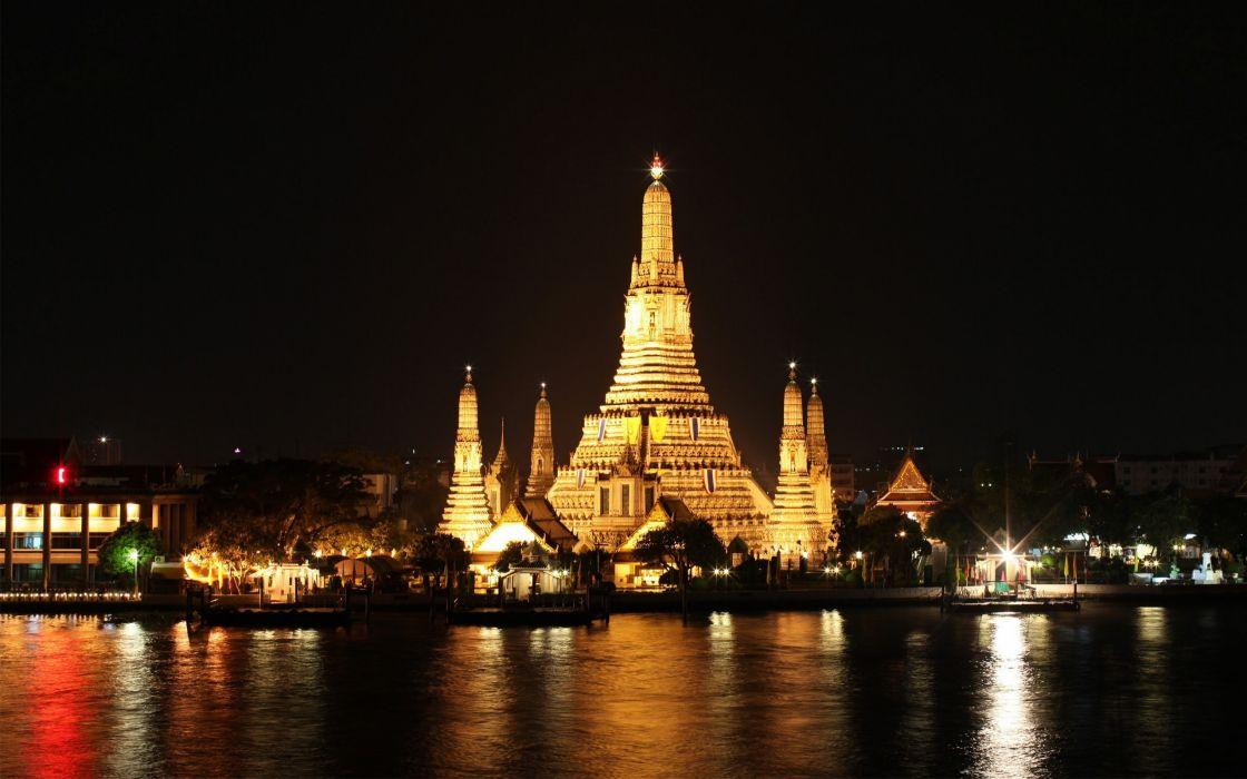 Bangkok at night wallpaper