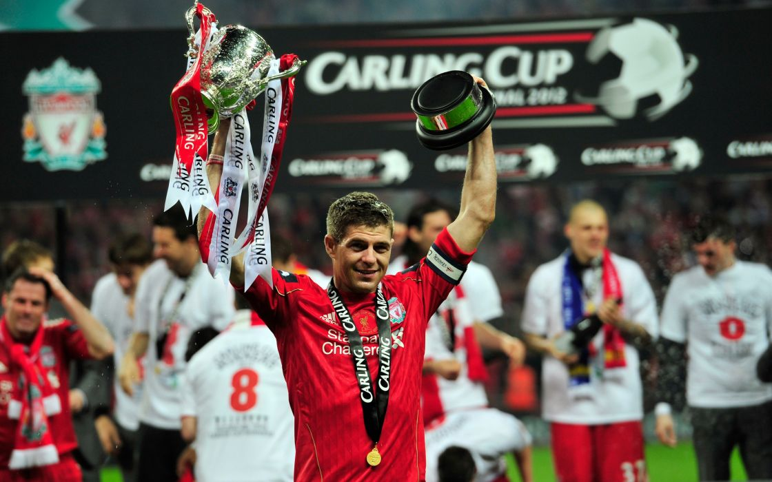 Steven Gerrard Liverpool 2012 wallpaper