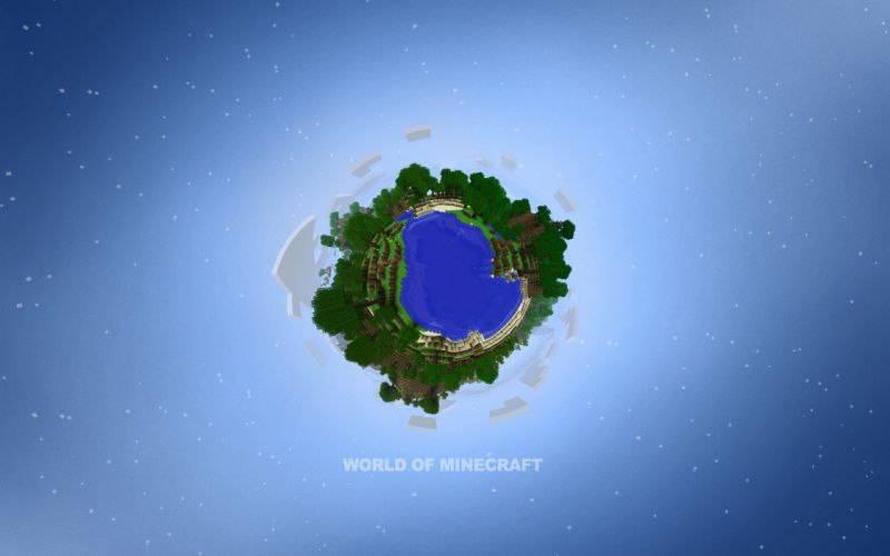 World of Minecraft wallpaper