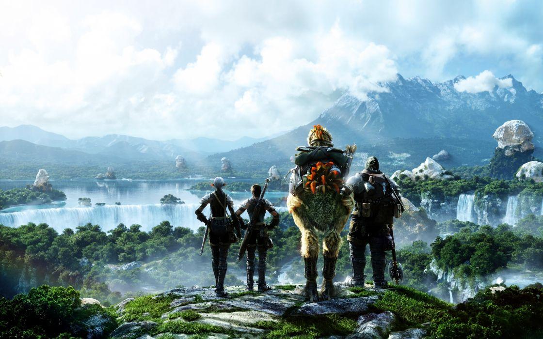 Final Fantasy Scene wallpaper