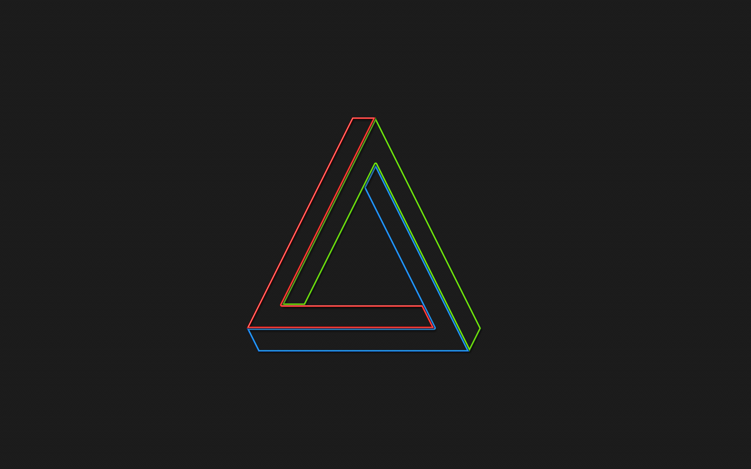 The impossible triangle wallpaper | 2560x1600 | 3473 ...