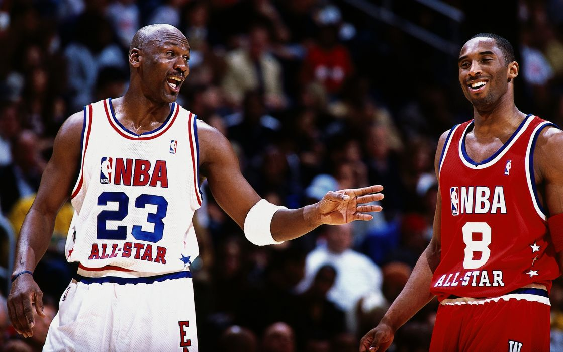 Kobe Bryant And Michael Jordan wallpaper