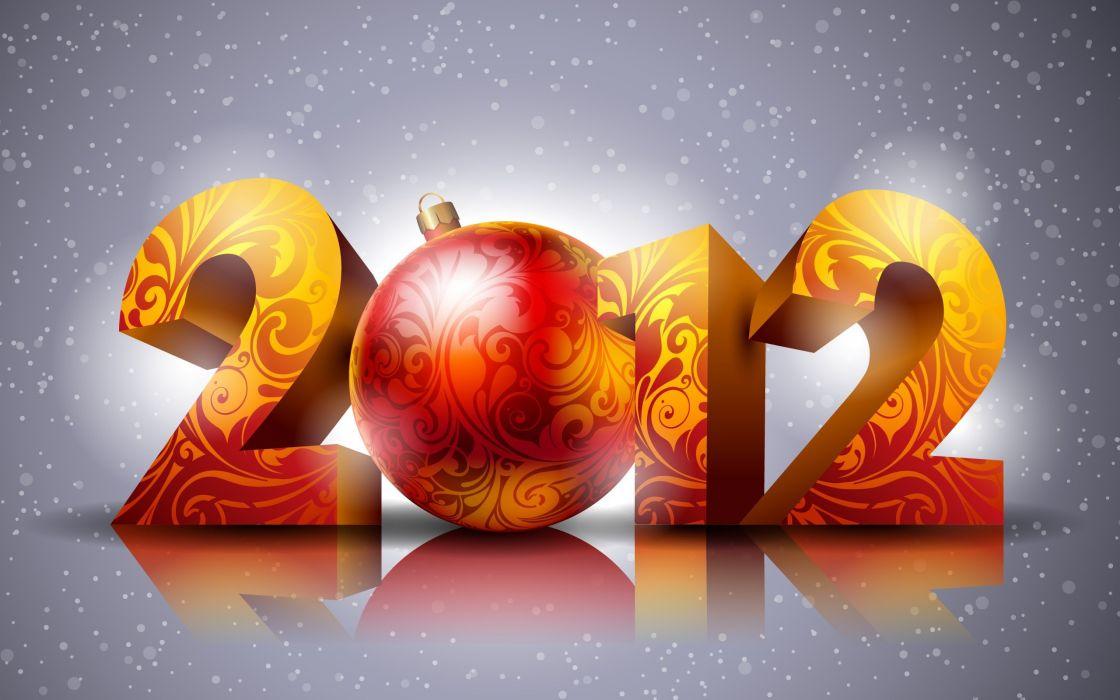 Happy New Year 2012 wallpaper