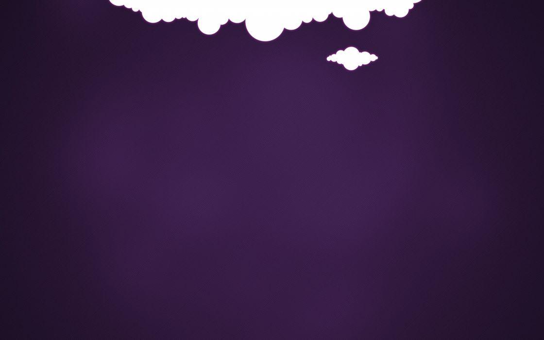 Purple cloud wallpaper