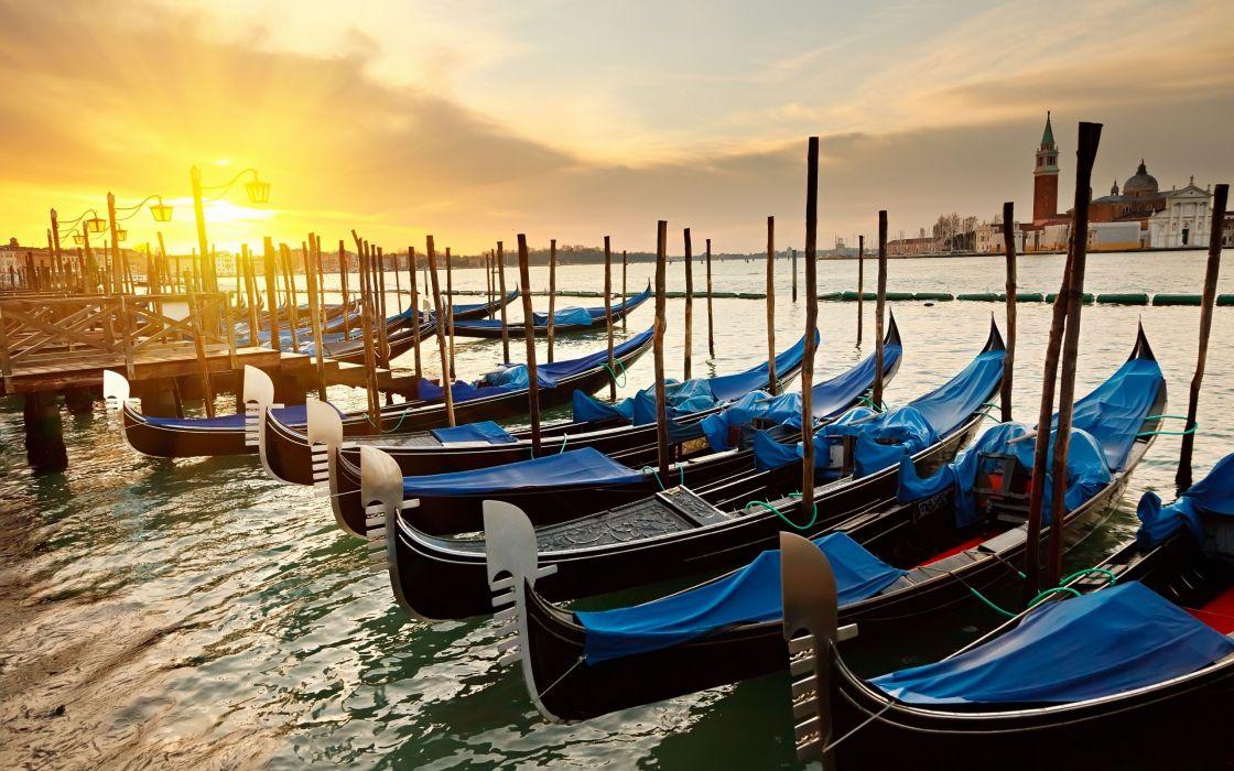 Venice Sunrise wallpaper