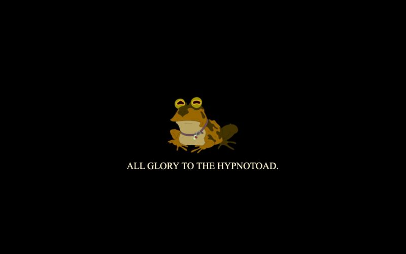 The Hypnotoad wallpaper