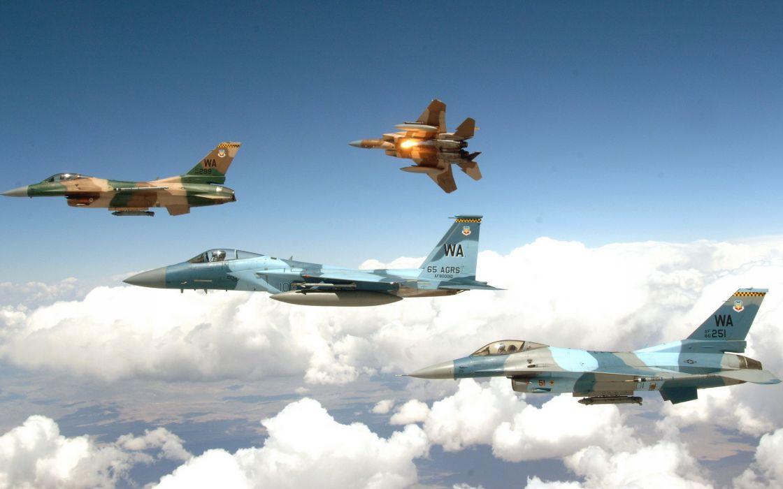 F-15 Aggressors squadron wallpaper