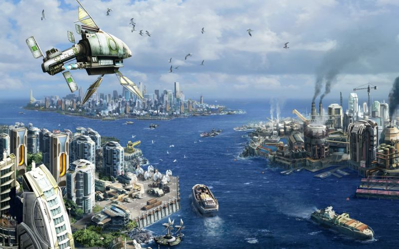 Anno 2070 wallpaper