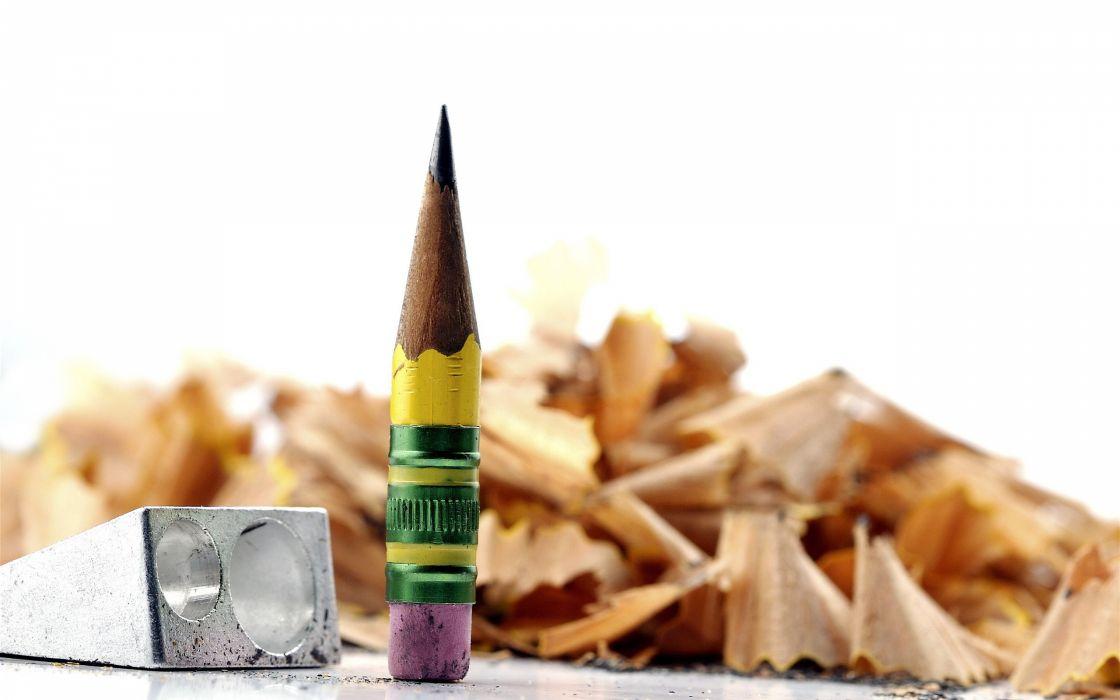 Sharpener little pencil wallpaper