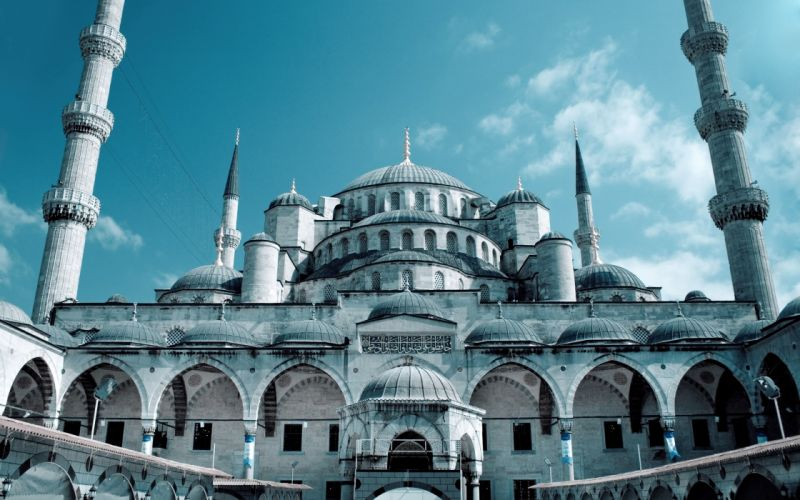 Grand Mosque Istanbul wallpaper