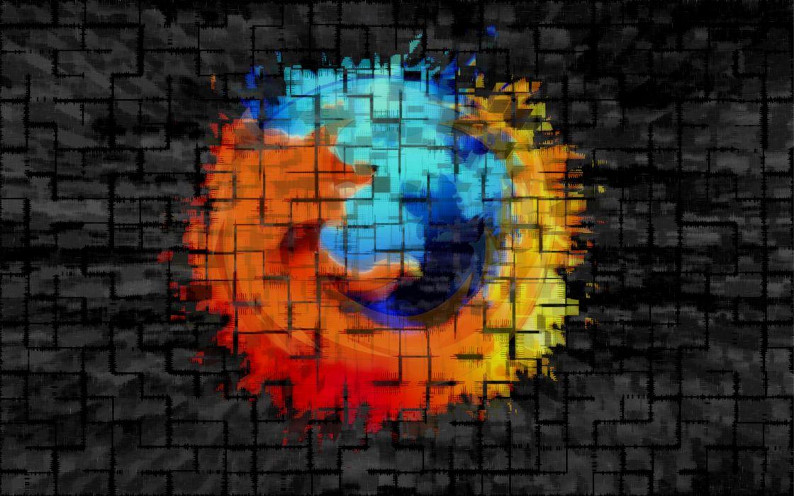 Divided Firefox wallpaper