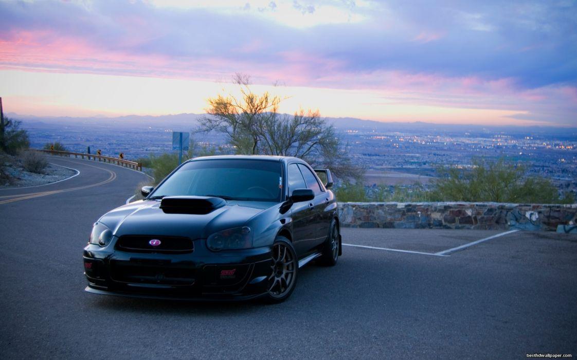 Subaru Impreza Tuning wallpaper