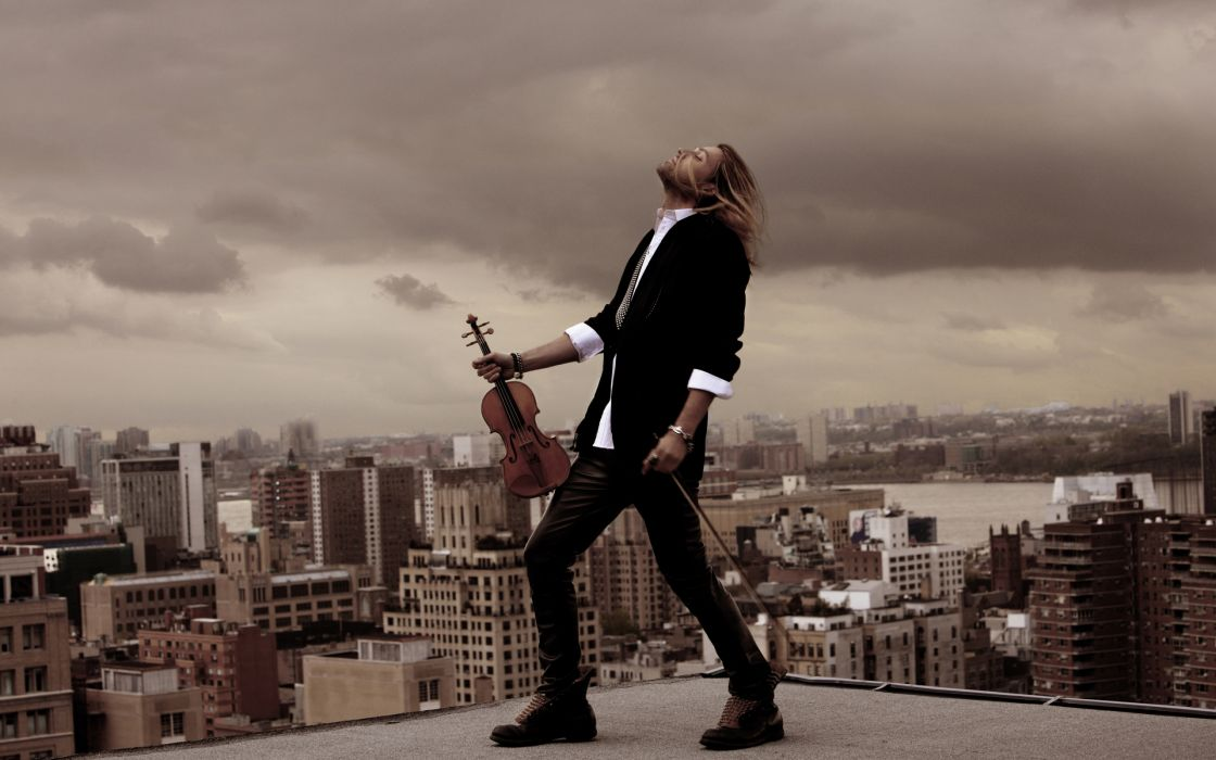 David Garrett Violin wallpaper