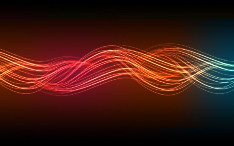 Flow of light wallpaper