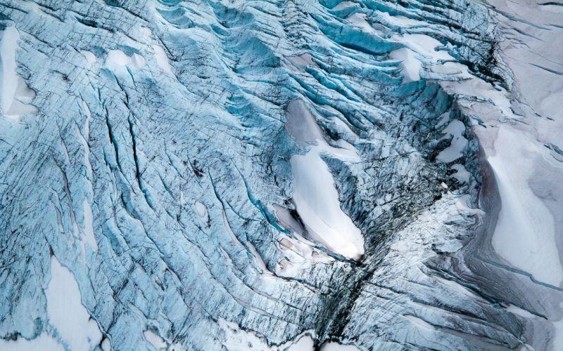 Blue Glacier wallpaper