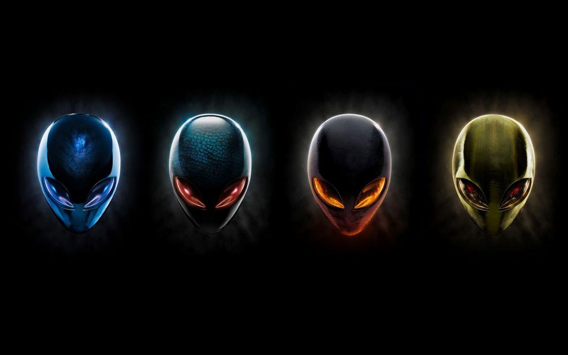 Alienware logos wallpaper