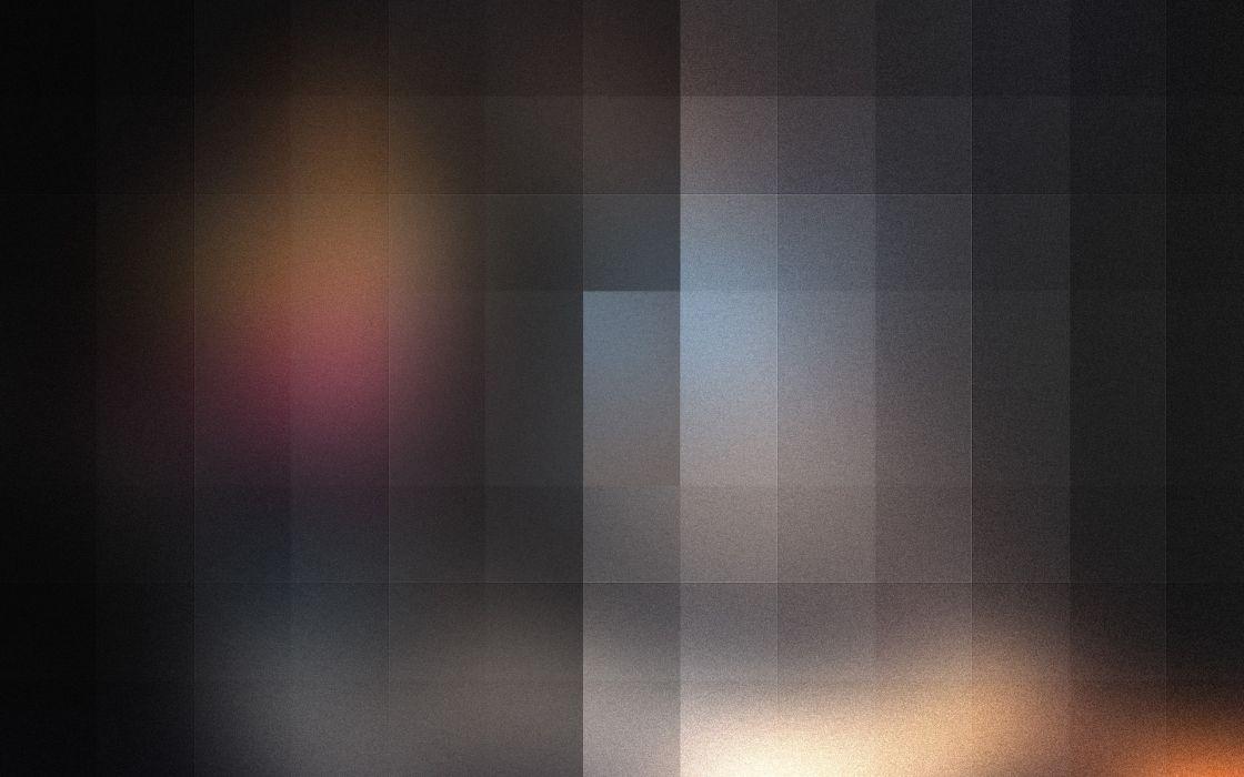 Blurred giant pixels wallpaper