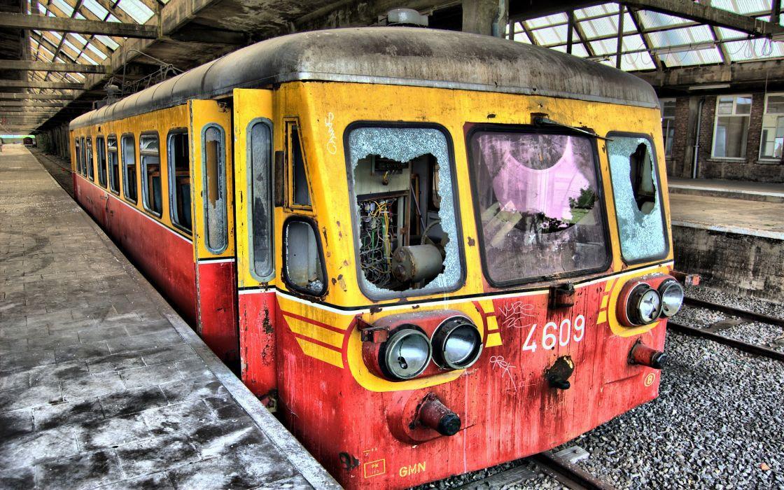 Broke train wallpaper
