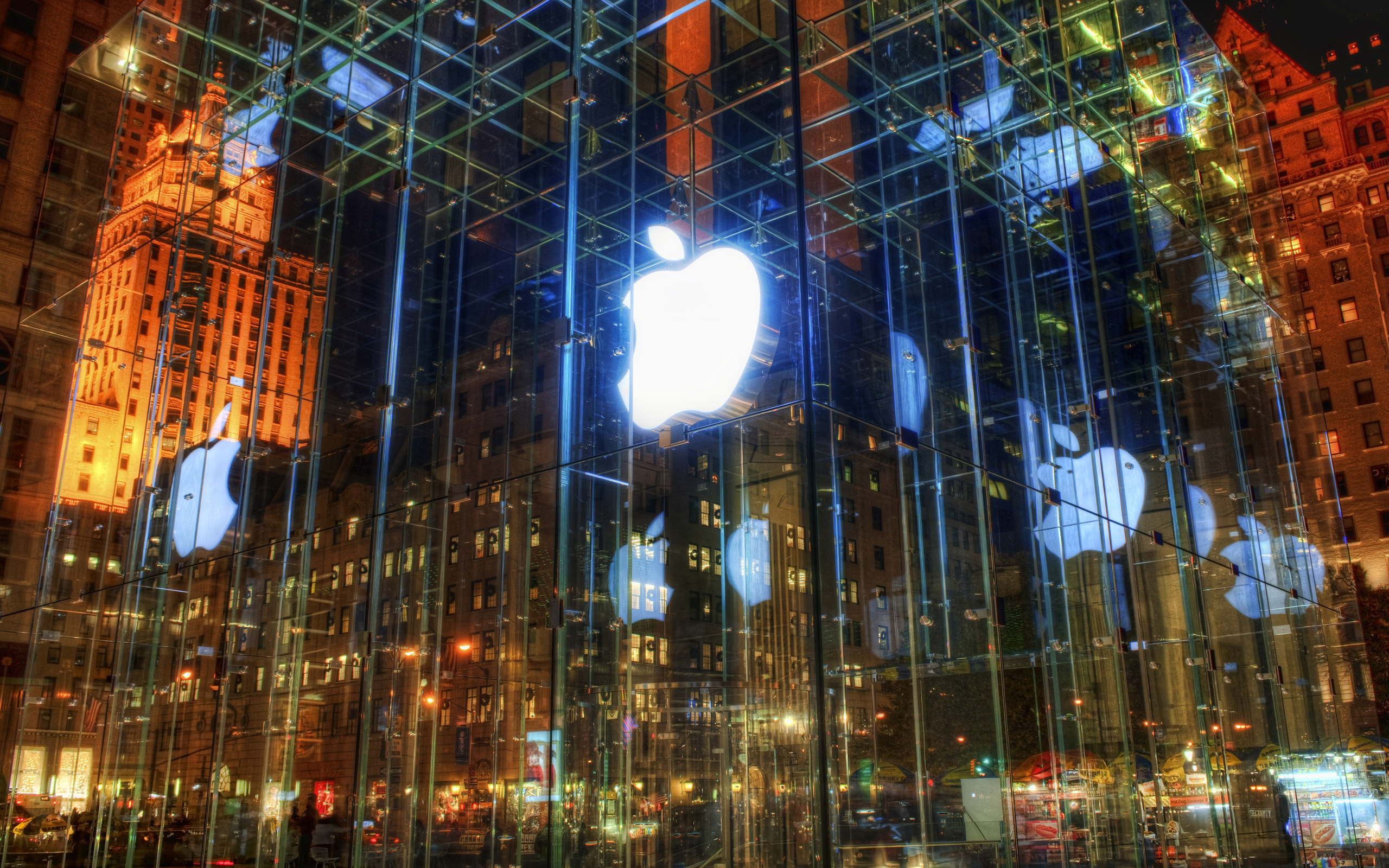 The incredible apple retail store wallpaper 2560x1600 for Wallpaper retailers