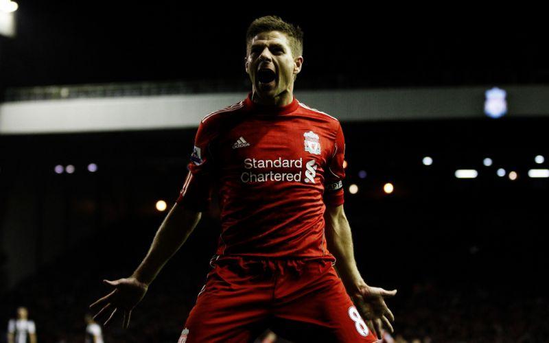 Steven Gerrard Football Player wallpaper