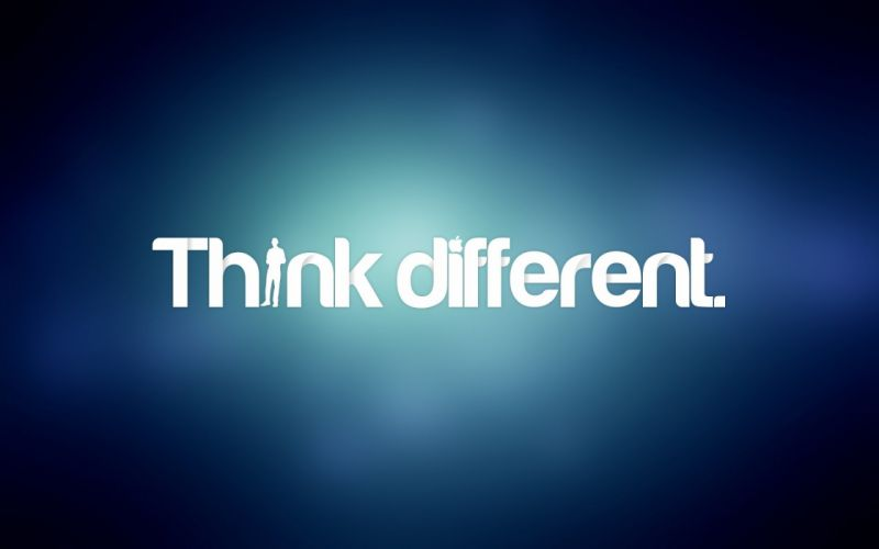 Just think different wallpaper