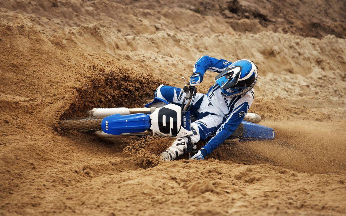 Extreme moto race wallpaper