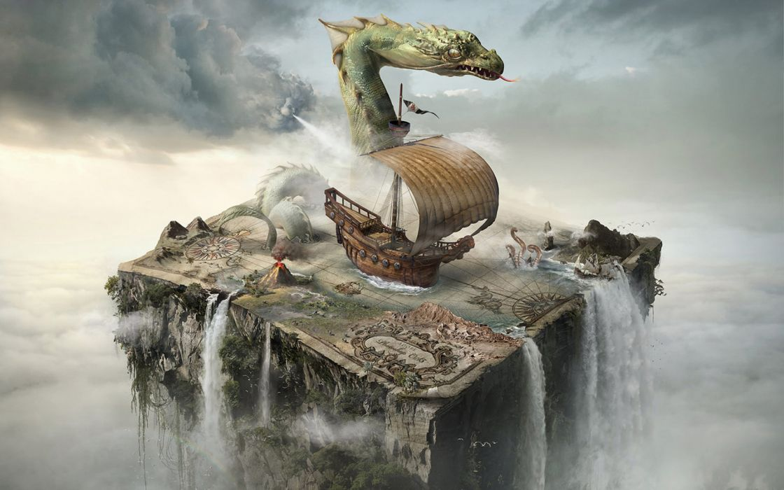 Best fantasy dragon wallpaper