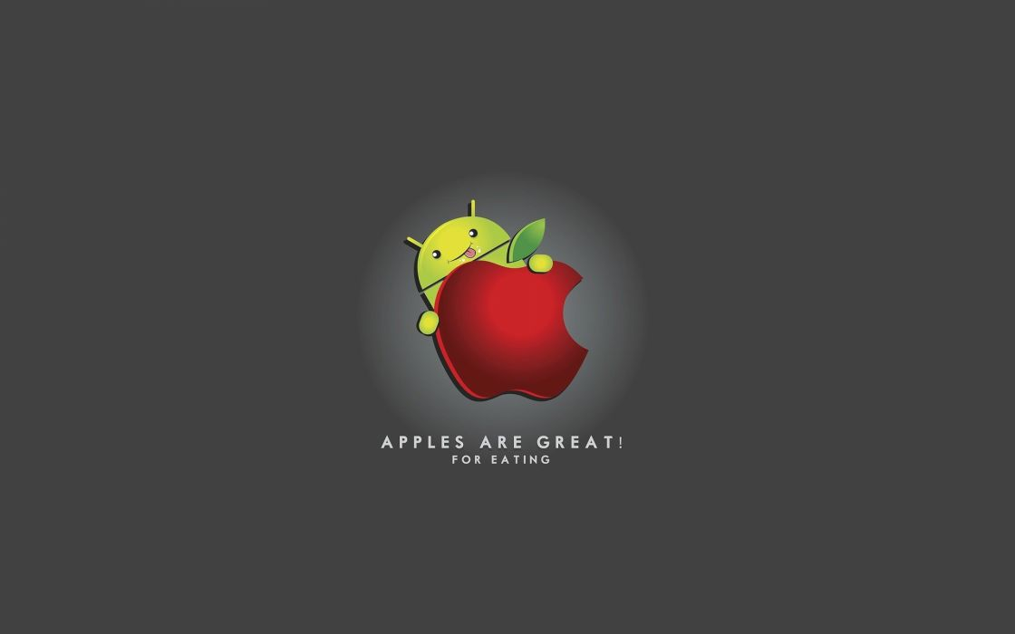 Android And Apple Wallpaper