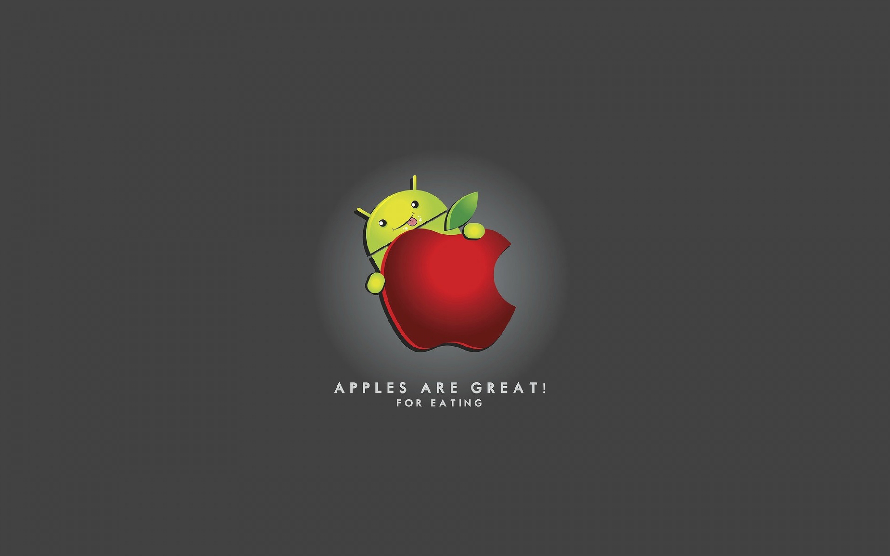 Android And Apple Wallpaper 2880x1800 3964 Wallpaperup