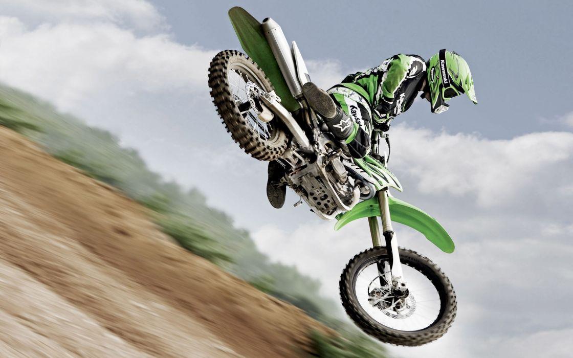 Super moto race wallpaper