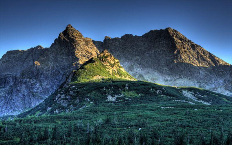 Polish tatra mountains wallpaper