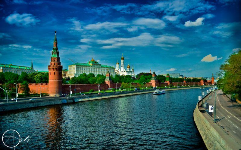 The Kremlin - Moscow wallpaper
