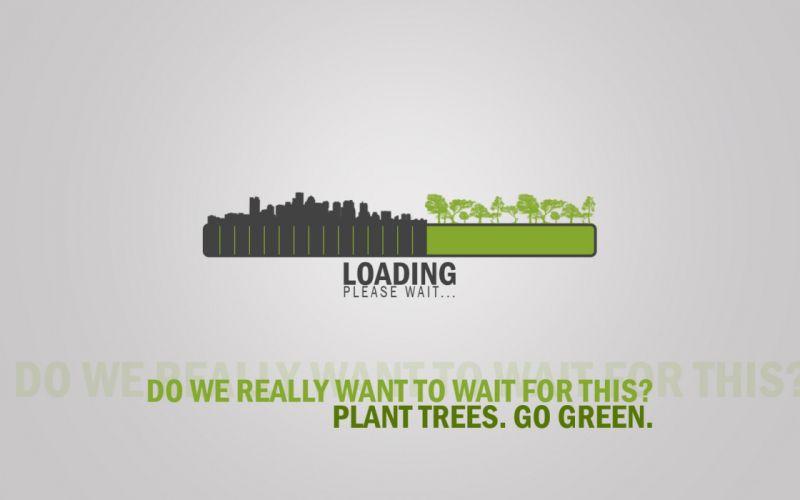 Urban destruction is loading please wait wallpaper