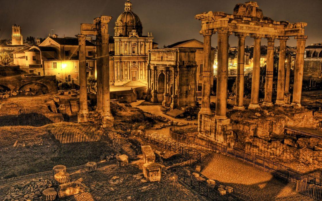 Rome ruins wallpaper