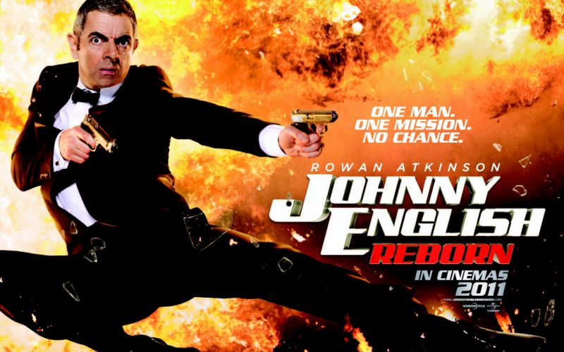 Johnny English Reborn wallpaper