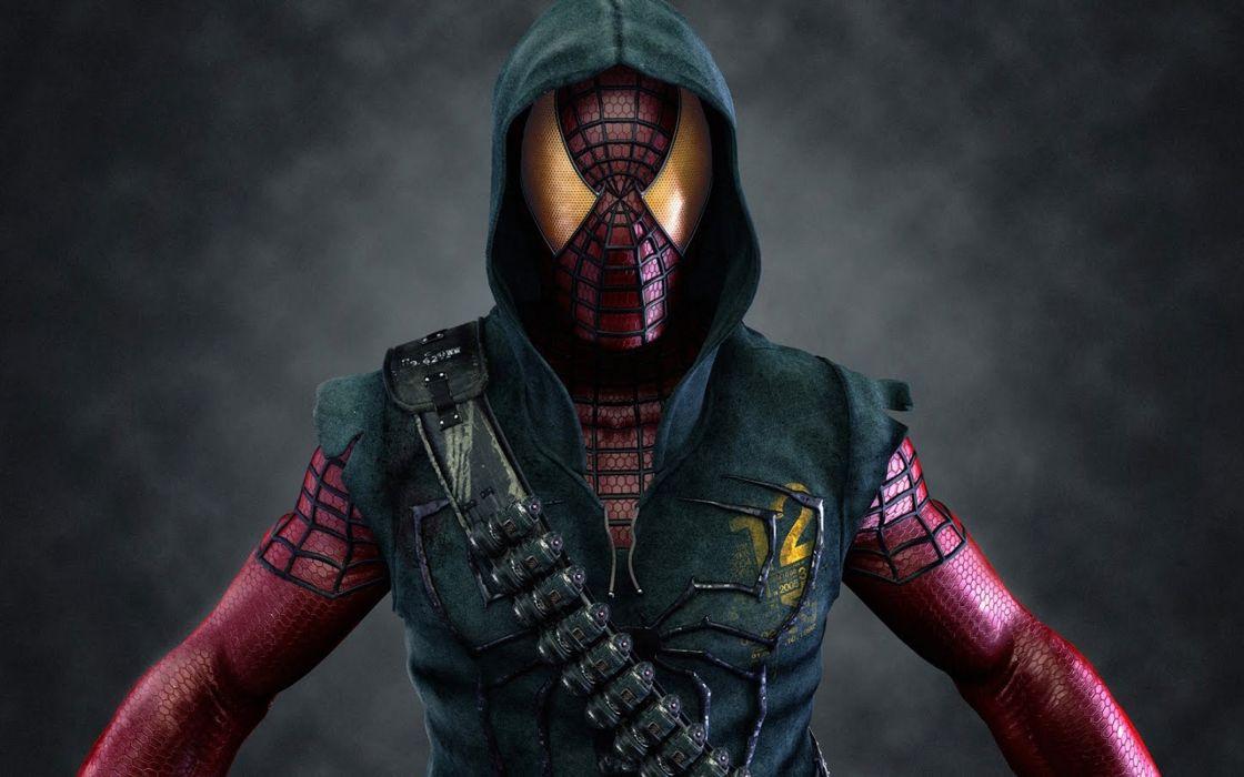 Bad spiderman wallpaper