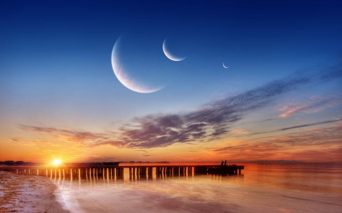 Enjoy the sunset wallpaper