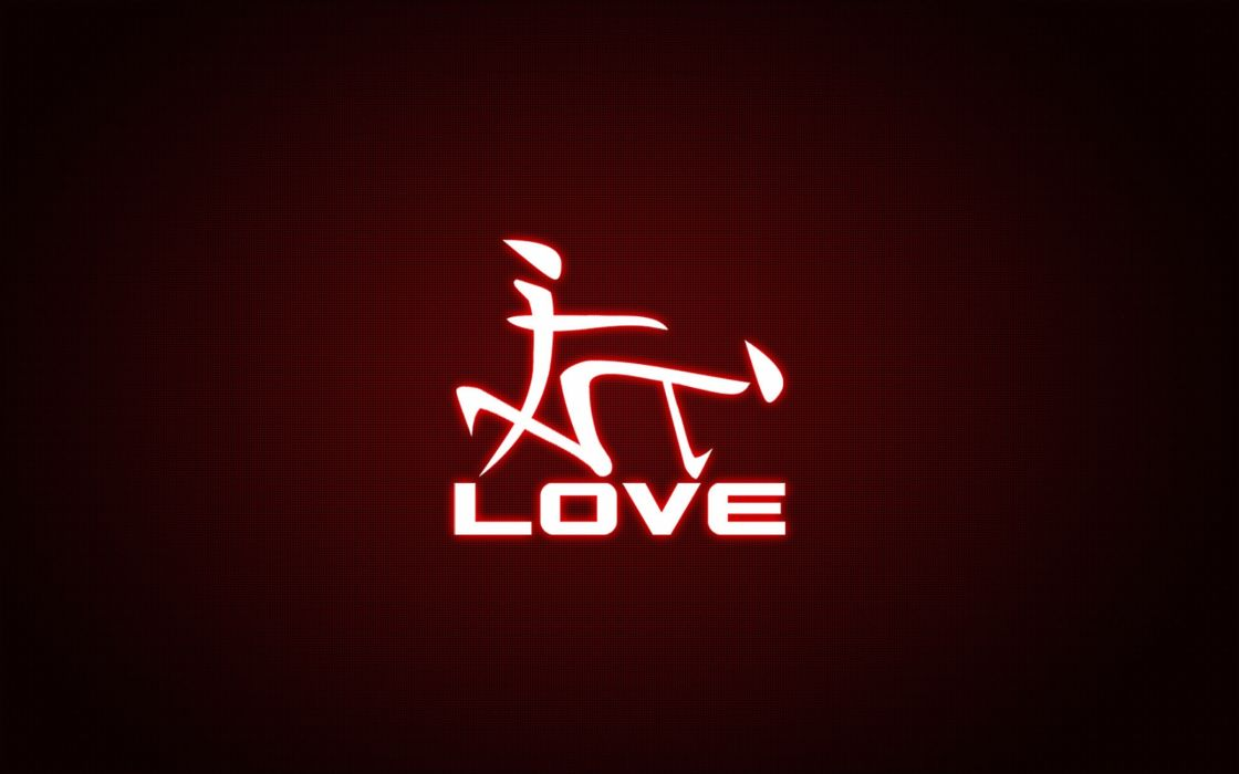 Love sign wallpaper