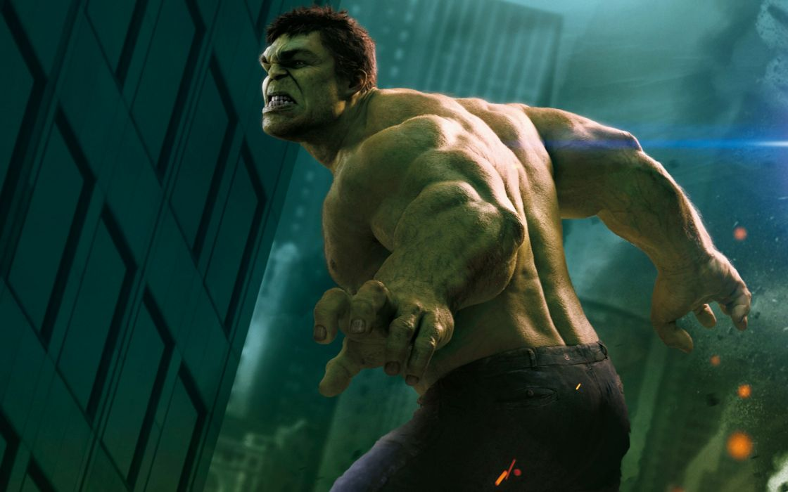 Hulk in The Avengers wallpaper