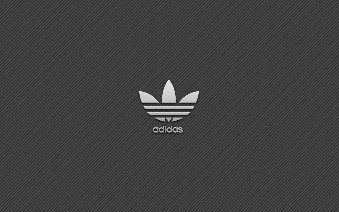 Adidas simple logo background wallpaper
