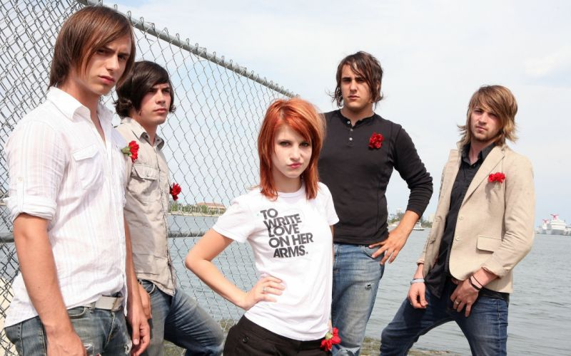 Paramore and hayley williams wallpaper