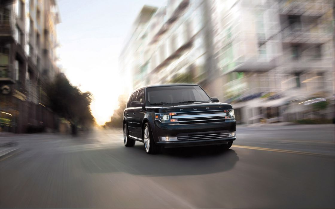Speed with ford flex model 2013 wallpaper