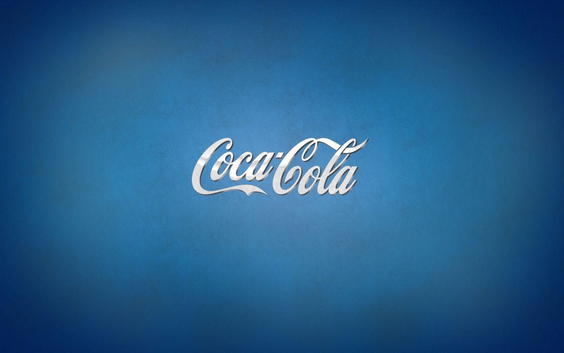 Blue Coca-Cola wallpaper