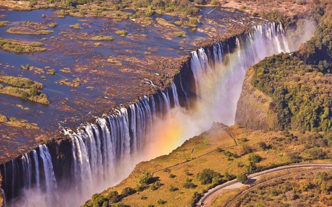 Victoria falls zambia wallpaper