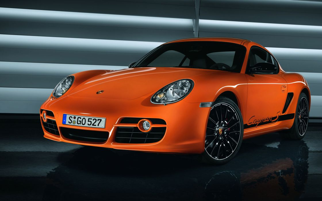 Porsche cayman s sport car wallpaper