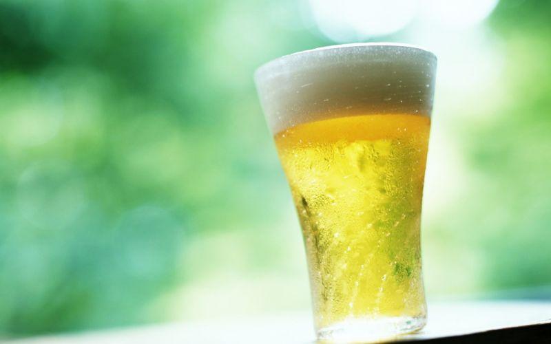 Cold glass of beer hd wallpaper wallpaper